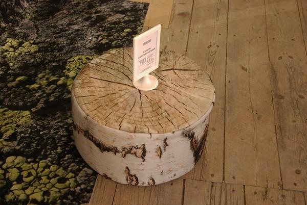 Poduszkowe drewno