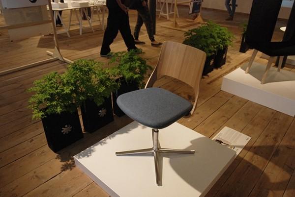 Minimalistyczny fotel