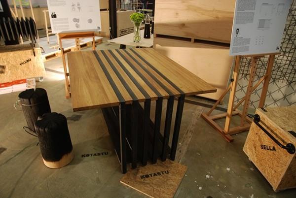 Stół który jednocześnie jest grzejnikiem